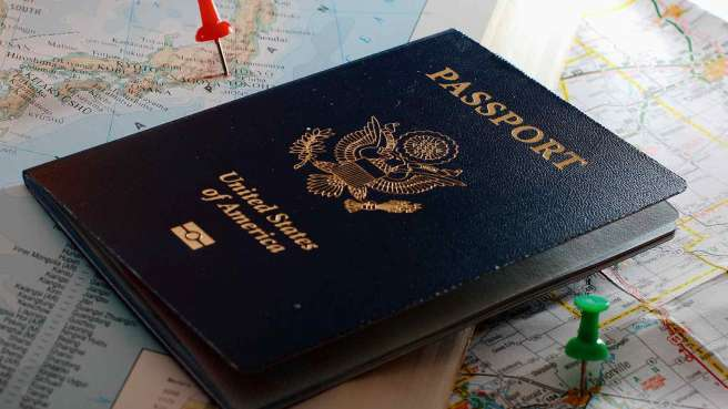 passport-on-a-map